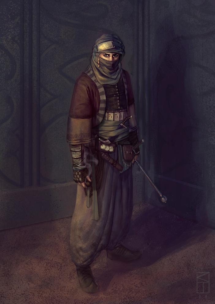 Arabian Assassin by Kamikazuh