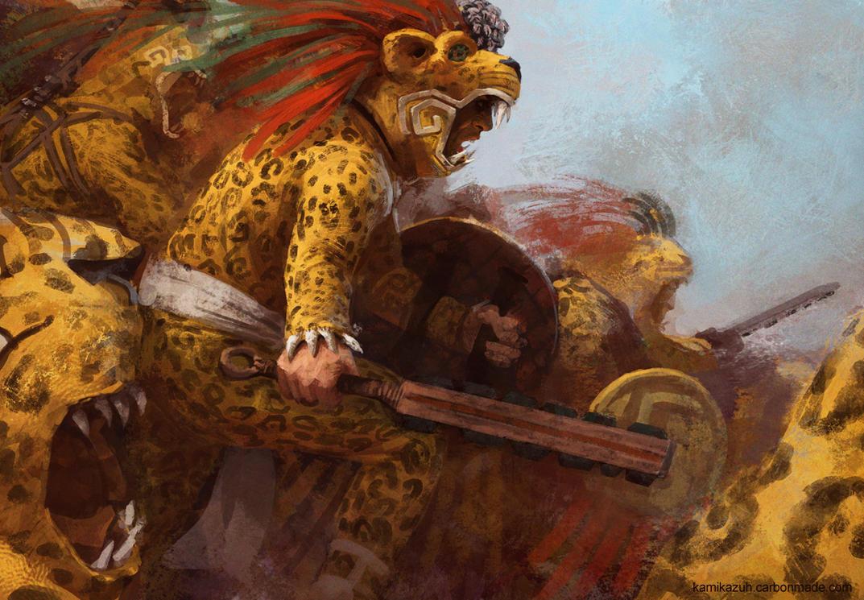 Jaguar Warriors by Kamikazuh