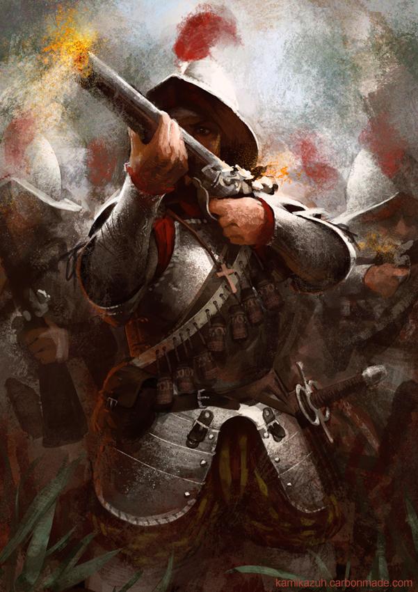 Conquistadors by Kamikazuh