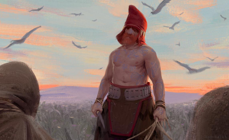 The Scythian by Kamikazuh