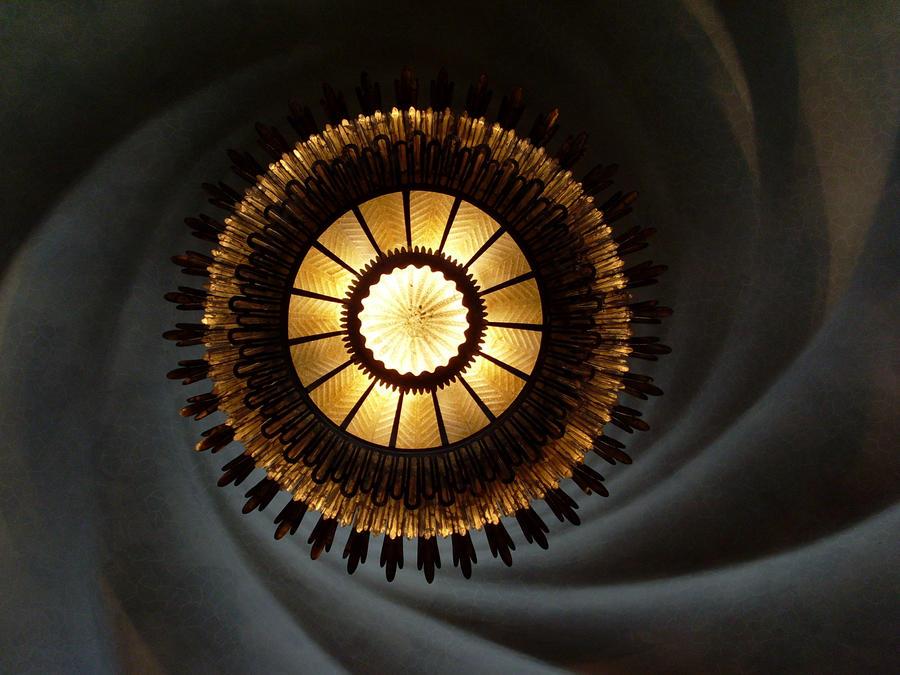 Gaudi Casa Batllo Ceiling by Kaldrax