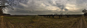 Panorama Fields II New HDR by Kaldrax