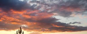 Sunset Panorama by Kaldrax