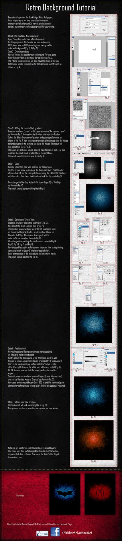Retro Background Tutorial - Step by Step by ShikharSrivastava