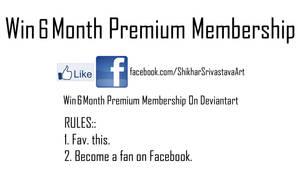 Win free 6 month premium membership