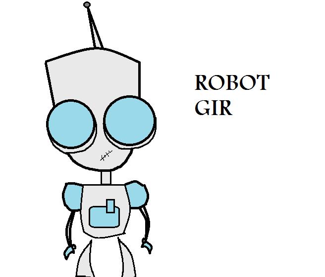 Invader Zim Gir Robot invader zim fan art- r...