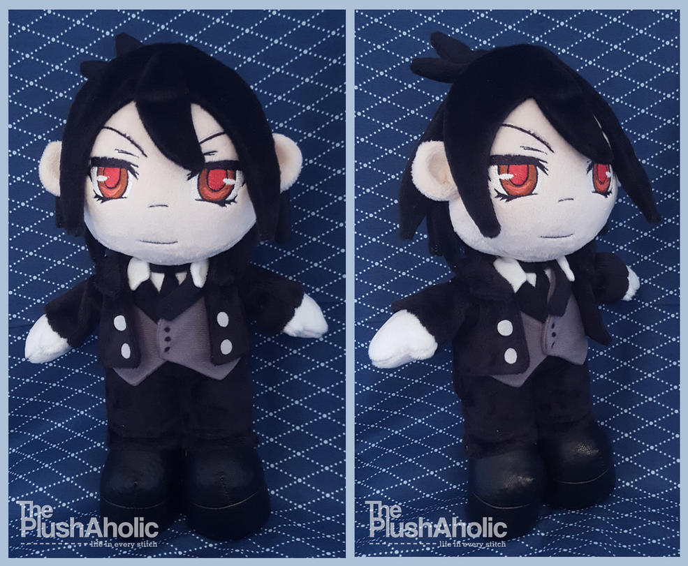 Sebastian (Black Butler) by The-PlushAholic