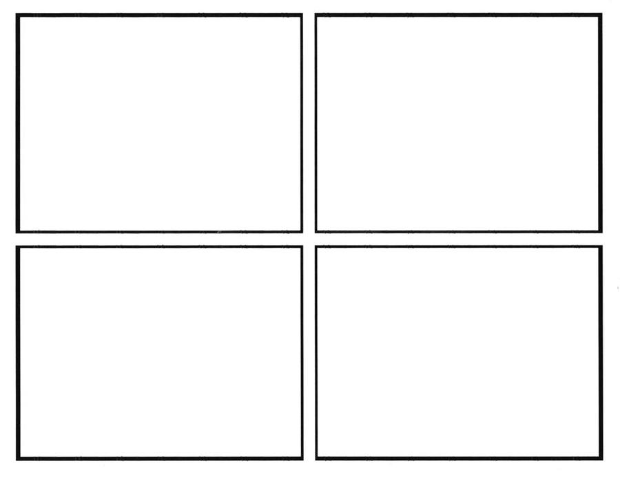 four panel comic strip template four panel comic templet by sollinfaolan on deviantart