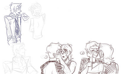 Voltron Doodle Dump 3: Lance Angst