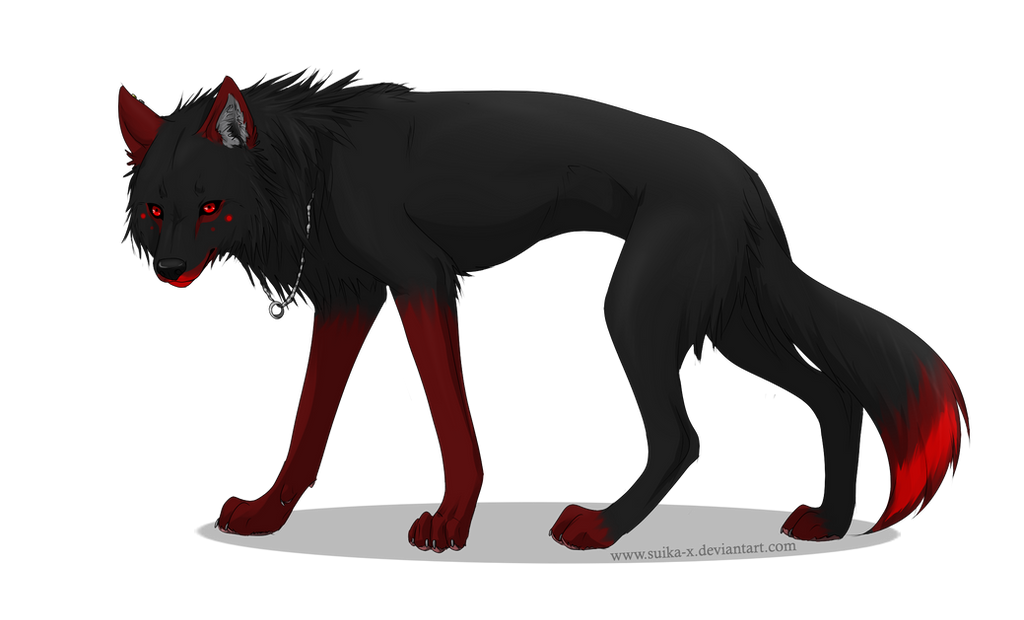 COMMISSION - Ominiscient Wolf by Suika-X