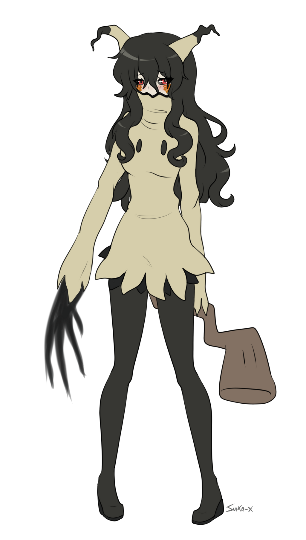 Mimikyu gijinka by Suika-X on DeviantArt The Art Of Getting By Drawings