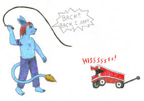 Wagon Tamer by Draygone