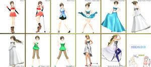 .::MMD Watcher DL Series::. Kio MEIKO + Sweet Ann