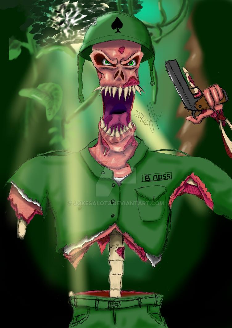 Jungle Madness by jokesalot3
