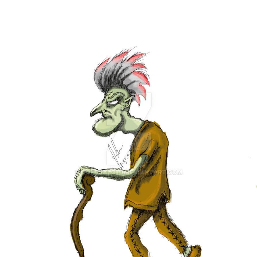 elder goblin by jokesalot3