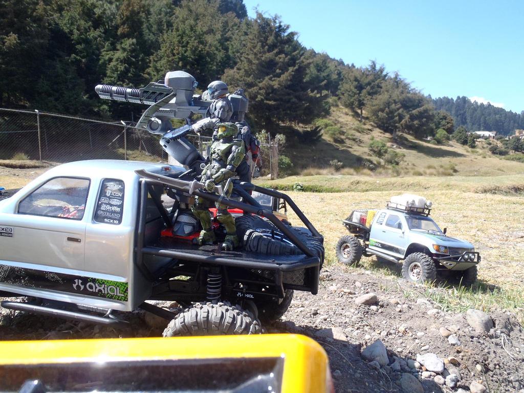 Axial Trail Honcho Spartan UNSC unit by Krulos