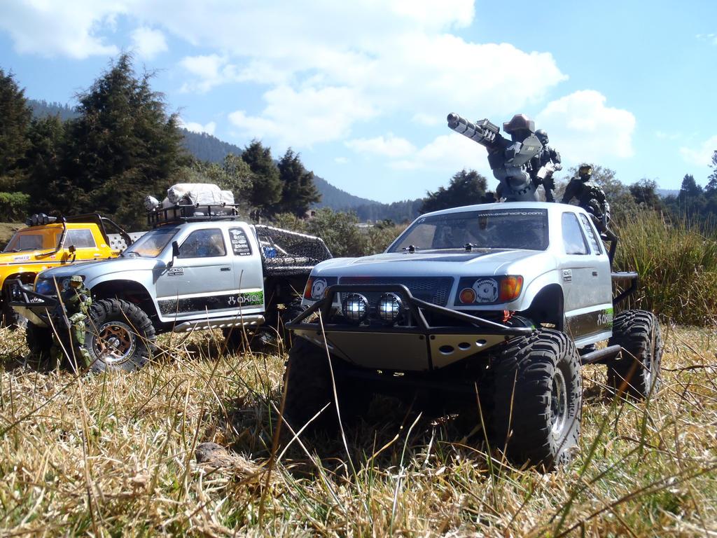 Axial Trail Honcho Spartan UNSC unit II by Krulos