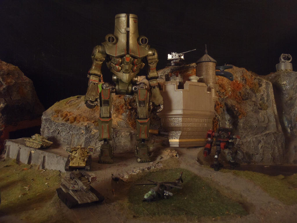 Jaeger Cherno Alpha, Pacific Rim by Krulos on DeviantArt Pacific Rim Cherno Alpha Destroyed