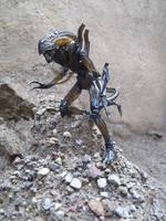 Alien Warrior, Aliens movie 1986 design by Krulos