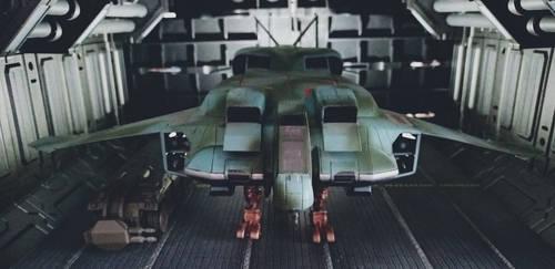 Aztec Dropship UD-7 by Krulos