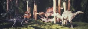Spinosaurus comparissions...