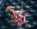 Lanard Alien dogs..