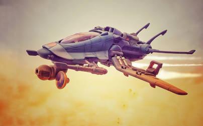 Exxosquad spacefighter