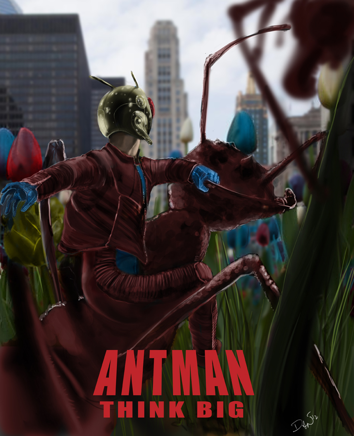 Ant-Man by ~BrokenZen