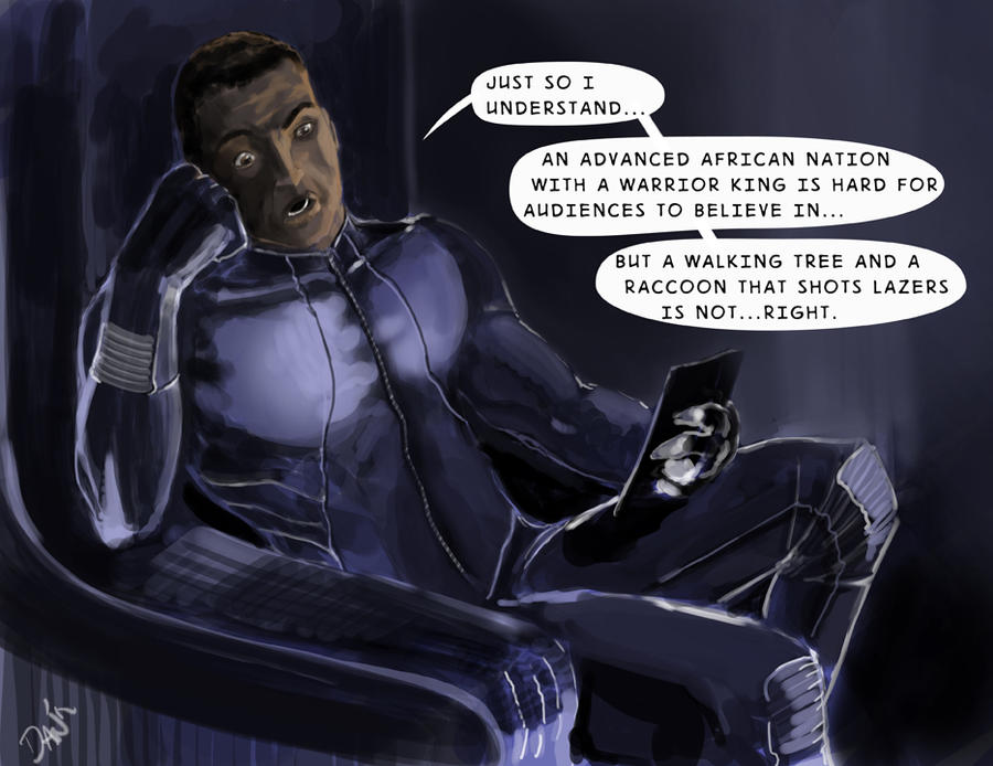 T'challa's all wtf by ~BrokenZen