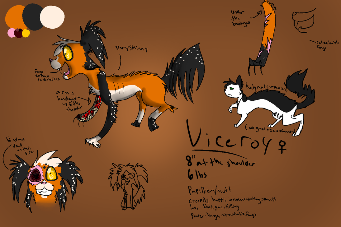 Viceroy CC refrence by Mango-Rain