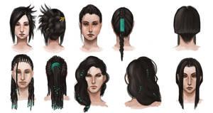 hairdo practice