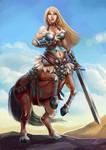Centaur girl - Commision