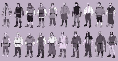 Medieval-like clothing