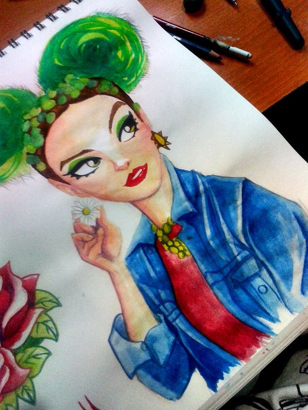 Candy Watercolors
