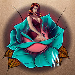 Rose Pinup n8