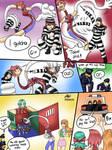 COMMISSION: Elastic girls vs robbers 3