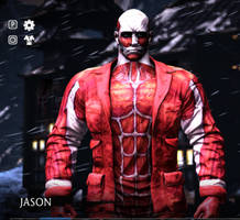 attack on titan colossal titan skin for Jason