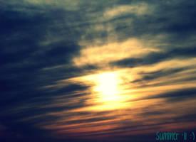 Summer Sky by BlondeKatastrophe