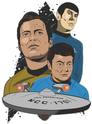 Star Trek by DaveMilburn