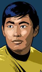 Star Trek Character Portraits Sulu