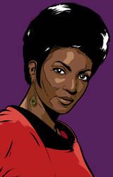 Star Trek Character Portraits Uhura
