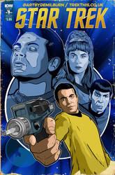 Star Trek comic cover