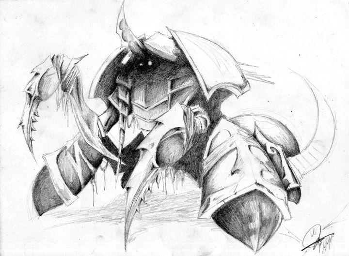 Nerubian Assassin: Anub'arak by TheN00bie on DeviantArt