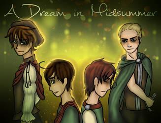A Dream in Midsummer: Re-release by SammyJadeArt