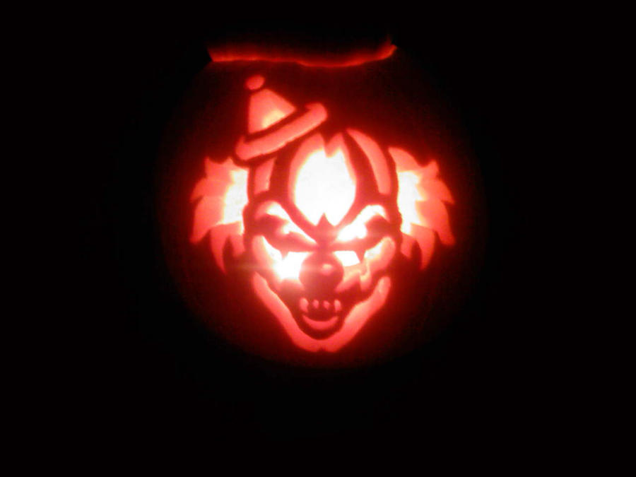 clown pumpkin by ccootttt on deviantart