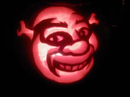 shrek pumpkin by ccootttt