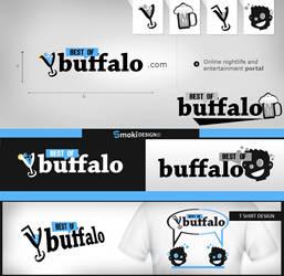 Buffalo logo design by sm0kiii