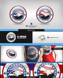 American party logo design by sm0kiii