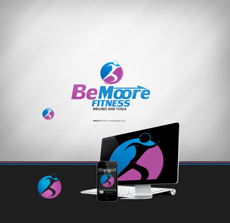 BeMoore Fitness logo by sm0kiii