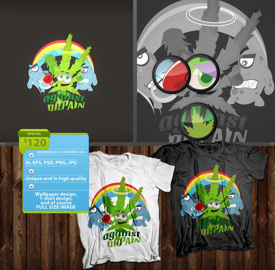 Marijuana shirt by sm0kiii